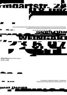 Avion de papier.: Wolfgang Weingart / 1941 -