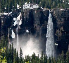 Bridal Veil Falls outside of Telluride, Colorado | Flickr - Photo Sharing!