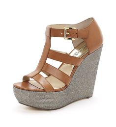 9a3ce90a1b36 Women s MICHAEL Michael Kors Faye Wedge Sandal--have a pair almost exactly  like this from stein mart!