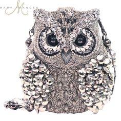 Wisdom ~ Pretty owl handbag by Mary Frances