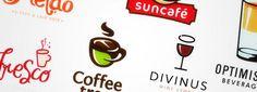30 Creative Bar and Cafe Logos