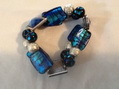 Hey, I found this really awesome Etsy listing at https://www.etsy.com/listing/191239440/chunky-blue-bangle-bracelet