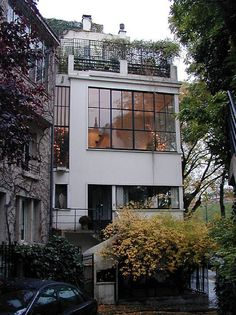 Maison Ozenfant (house and studio), Paris - Le Corbusier 1923-24