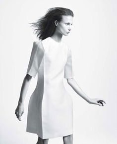 David Sims for the Calvin Klein spring 2009 collection appearing in Elyssa Dimant's book David Sims, Fashion Shoot, Editorial Fashion, Fashion Outfits, Fashion Women, Fashion Black, Fashion Fashion, Fashion Ideas, Fashion Inspiration