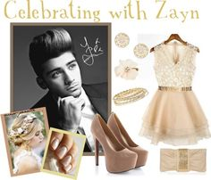 """""""Celebrating with Zayn"""" by miss-janelle ❤ liked on Polyvore"""