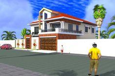 Projet de construction d'une Villa a Ouagadougou-BurkinaFaso