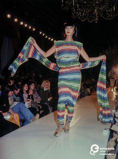 Fashion show Kansai Yamamoto spring/summer 1977 | Sayoko Yamaguchi - Europeana