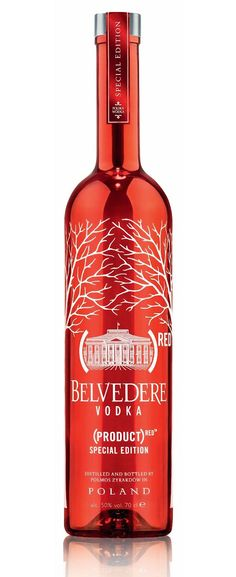DRINK.CH Online Beverage Delivery Service Belvedere RED Special Edition Vodka 70cl - Vodka - Spirituosen | Your Personal Beverage Butler