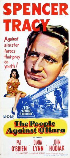 The People Against O'Hara (1951) - starring Spencer Tracy, Pat O'Brien, Diana Lynn and John Hodiak