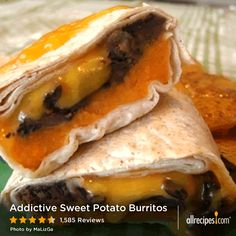 Addictive Sweet Potato Burritos | Add some shredded supermarket ...