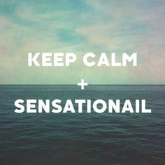 Plug into your inner peace and take time for yourself today for a #SensatioNail manicure. It's worth it.