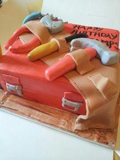 Toolbox cake!