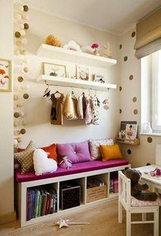 Creare un angolo lettura per bambini in cameretta o in salotto - 03
