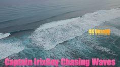 DJI Phantom 3 Captain IrixGuy Chases Waves