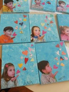 Mother's Day Gift Idea for Kids. This would be such fun to make with your class this year at school! The hearts are adorable!