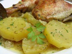 pollo asado con thermomix, Potato Salad, Chicken, Meat, Ethnic Recipes, Food, Facades, Apartment Ideas, Spain, Creative