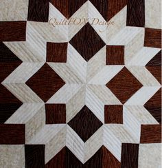 (7) Name: 'Quilting : Carpenters' Star Cross 42'x57'