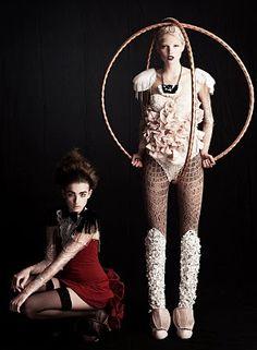 avante garde. #circus #pinup #photography