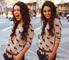 style. hair. vanessa hudgens (she's beautiful)