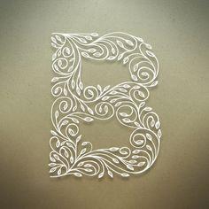 Botanical Alphabet on Typography Served #design #type
