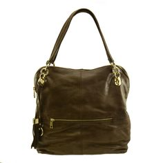 Manhattan Leather Slouch Tote in Brown - $249.00   Check it out at: http://www.bagaholics.com.au/leather-bags-c6/manhattan-leather-slouch-tote-in-brown-p592/