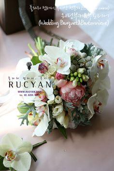 웨딩부케&부토니어(Wedding Bouquet)_[루시안]전문가반 플라워레슨 :: 네이버 블로그