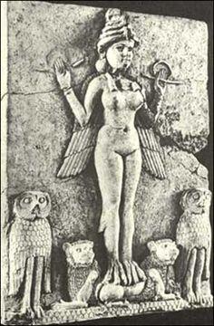 The Babylonian Goddess Lilith (Mesopotamia; c. 2000-1800 BC)