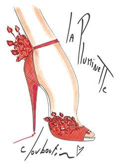 Louboutin's 20th Anniversary Capsule! love!! Beyond amazing!