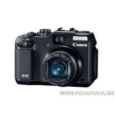 Kamera Digital Canon PS G12 - 10 Million Effective Pixels, ISO 3200