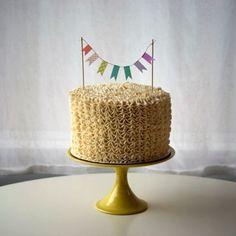 decoração de bolo – Dona Doce
