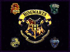 The 4 Houses of Hogwarts!