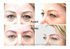Tatouage permanent sourcils blonds Suivez-moi sur facebook : Maquillage permanent Merveilles Tattoo