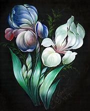 Learn how to paint from Priscilla Hauser-- anyone can learn how to paint!