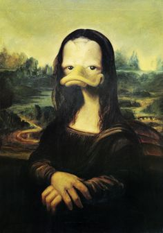 Donald´s Mona Lisa