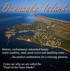 Ocracoke Island was beautiful. Stay at the Crews Inn bed & breakfast. It was very nice.