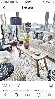 Living Room Designs, Living Room Decor, Living Spaces, Living Rooms, Apartment Chic, Deco Boheme, Bohemian Interior, Home Decor Items, Home Decor Inspiration
