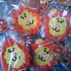 Leones!!#cookie #lion #jungleparty