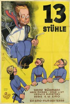 """1938 - Place 12 - """"13 Stühle"""" E.W. Emo"""