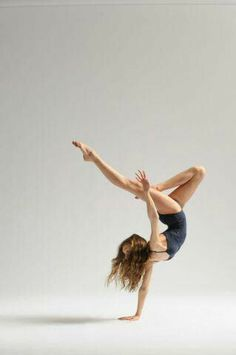 Dance - one handed hand stand and hair
