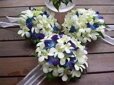 Blue Wedding Bouquets | blue wedding flowers 2