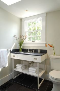 Masculine Bath   Contemporary   Bathroom   Boston   Charlie Allen  Renovations, Inc.