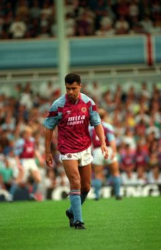 We delve into our Aston Villa picture library to bring you claret and blue images from different decades Aston Villa Kit, Aston Villa Players, Nigel Kennedy, Football Poses, Villa Park, Super Club
