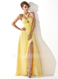 Prom Dresses - $134.99 - A-Line/Princess Sweetheart Floor-Length Chiffon Prom Dress With Ruffle Beading Split Front (018005352) http://jjshouse.com/A-Line-Princess-Sweetheart-Floor-Length-Chiffon-Prom-Dress-With-Ruffle-Beading-Split-Front-018005352-g5352?ves=wgc4sk&ver=ln6dy