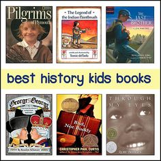Lists of the best kids books organized by time period -- great US History resource!  #CCSS Informational Text