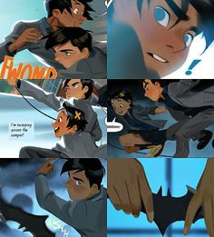 Damian's first and last day at Gotham Academy