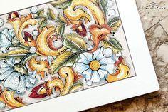 Buon lunedí!!! Nuovo pannello decorativo composto da piastrella in ceramica dipinta a mano e cornice in legno! Per info: ar.re.d.art2@gmail.com #arredart #ceramica #ceramics #piastrelle #piastrella #mattonella #maiolica #maioliche #dipintoamano #handpainted #artigianato #artigianale #negozio #artigianatoitaliano #lovemyjob #pittura #tradizione #arte #statigram #instaart #shop #madeinitaly #madeinsalento #igerspuglia