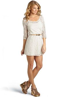 I really want a cute white dress!I love the entire outfit with some leggings on underneath.