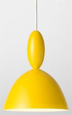 Mhy Pendelleuchte - gelb - Muuto