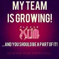 Join my team today for $34.95!!!  http://tinagregory.myplexusproducts.com/
