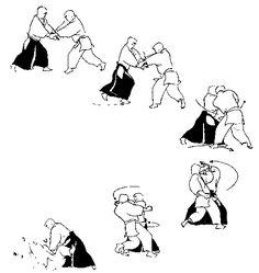 Artes marciales Martial Arts Defensa personal Self defense Aikido Basic Technique